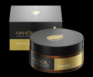 Nanoil Keratin Hair Mask - regeneracja dla Twoich włosów